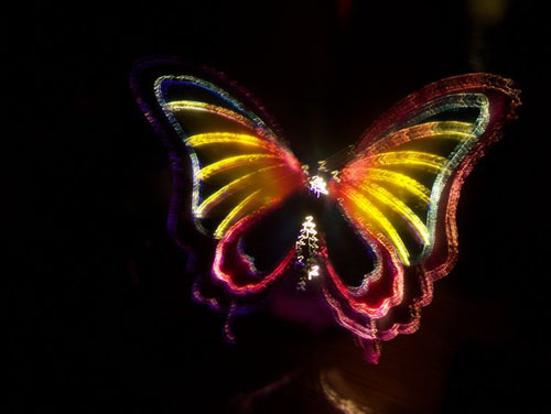 butterfly 50 Great Examples Of Painting With Light