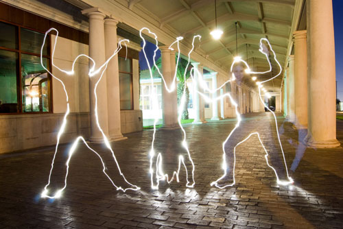 dance 50 Great Examples Of Painting With Light
