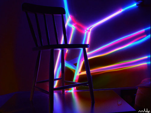 thechair 50 Great Examples Of Painting With Light
