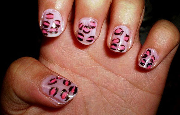 cheetah print nail design 25 Really Beautiful Nail Art Designs