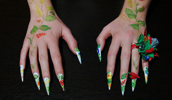 kormonfont 25 Really Beautiful Nail Art Designs