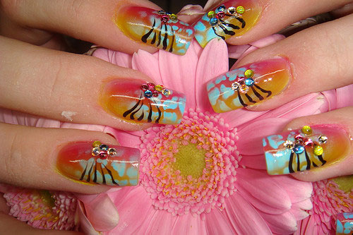 nail art design 25 Really Beautiful Nail Art Designs