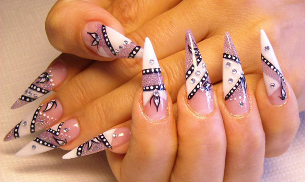 nail art designs 25 Really Beautiful Nail Art Designs