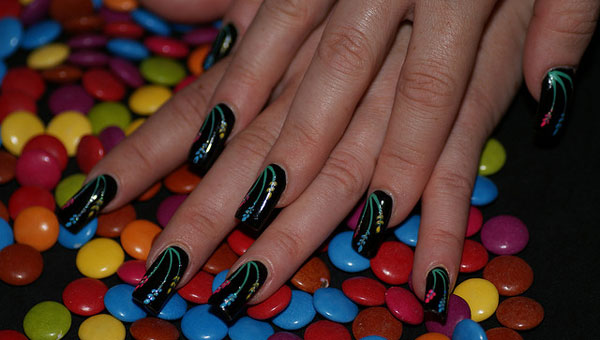 nails art 25 Really Beautiful Nail Art Designs