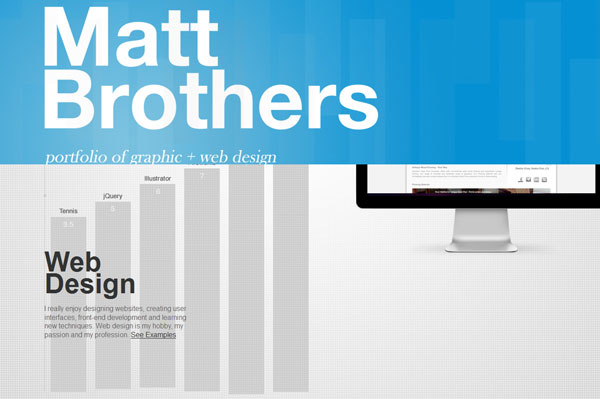 mattbrothers 15 Awesomely Unique Websites