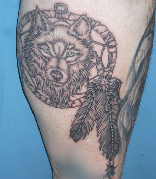 15 Scary Wolf Tattoo Designs