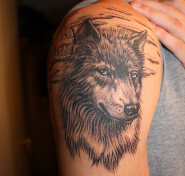 wolf 15 Scary Wolf Tattoo Designs