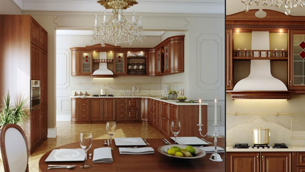 Making of realistic kitchen – 3ds max and vray
