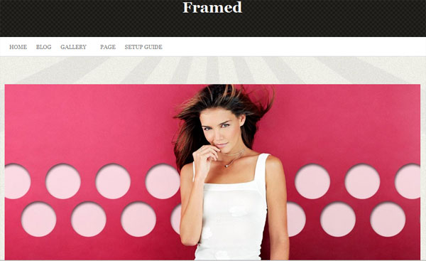 framed 25 Best WordPress Themes For Artists