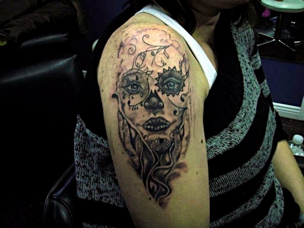 Evil Tattoo For Female
