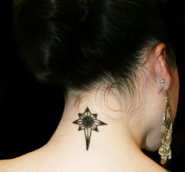 Ornament Tattoo For Female
