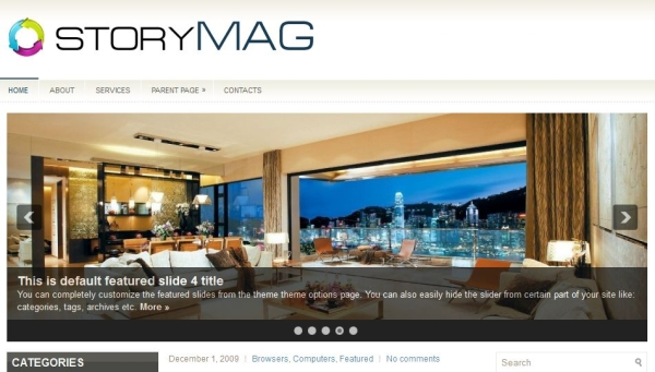 story mag 60 Free Premium WordPress Themes Of All Time