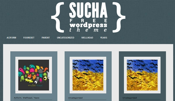 sucha 60 Free Premium WordPress Themes Of All Time