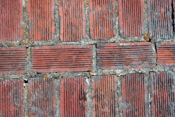 Red Lining Bricks