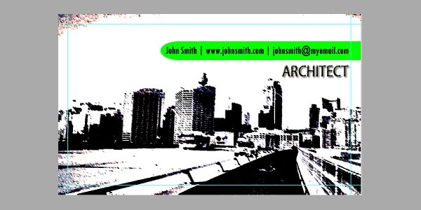 Create Business Card Design for Architects