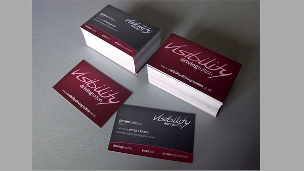 Business Card Design Project Walkthrough