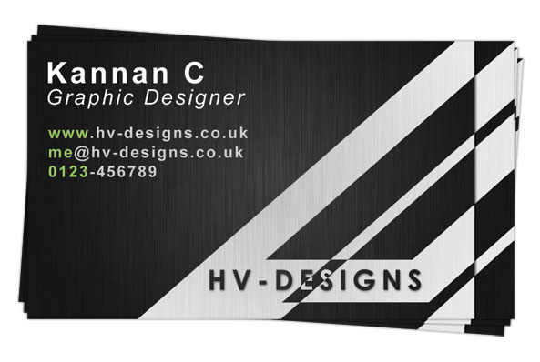 Stylish Print-Ready Business Card Design