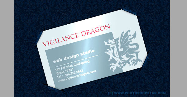 Unusual Presentation Your Business Card