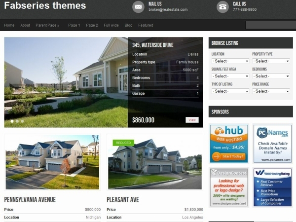 avenue wordpress theme 35 Free Business WordPress Themes Which Are Awesome