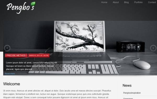 corporattica 35 Free Business WordPress Themes Which Are Awesome