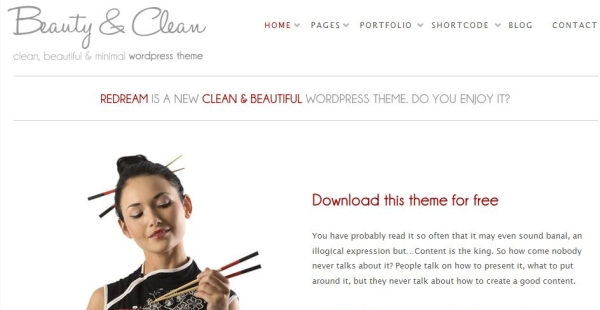 free minimal wordpress theme 35 Free Business WordPress Themes Which Are Awesome