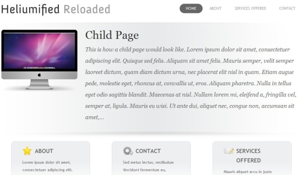 heliumified reloaded 35 Free Business WordPress Themes Which Are Awesome