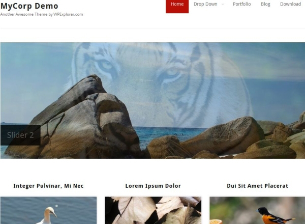 my corporation 35 Free Business WordPress Themes Which Are Awesome
