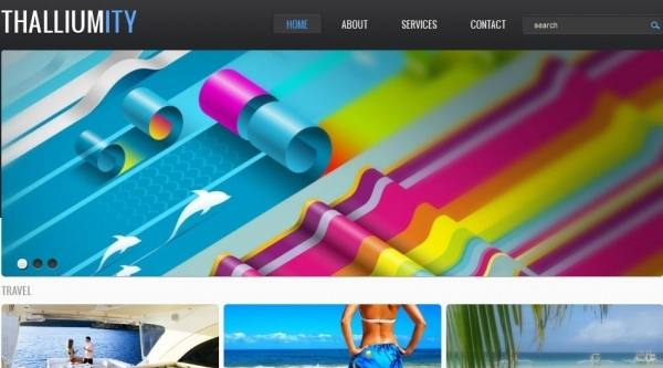 thalliumity free wordpress theme 35 Free Business WordPress Themes Which Are Awesome