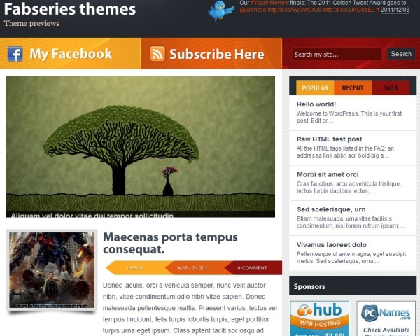vulcan wordpress theme 35 Free Business WordPress Themes Which Are Awesome