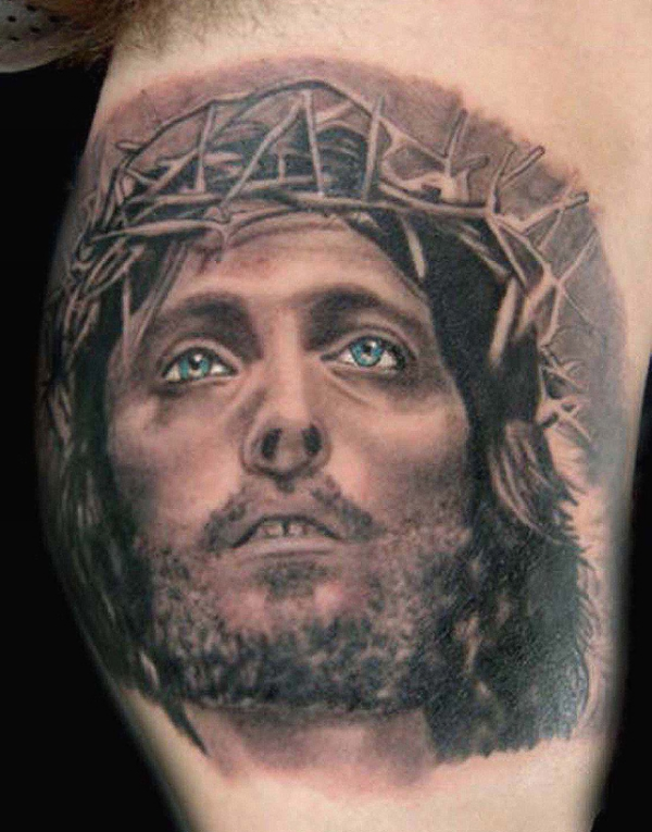 15 Holy Christian Tattoos - SloDive