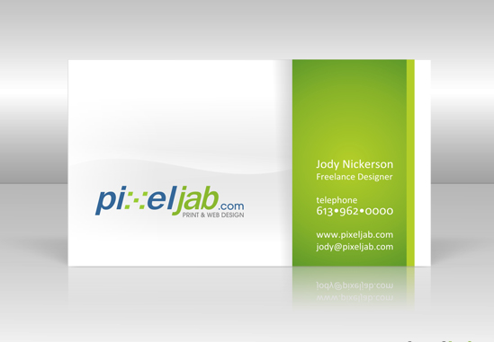 business card for web designer 20 Cool Business Cards For Designers