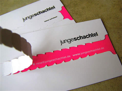 packaging designer business card 20 Cool Business Cards For Designers