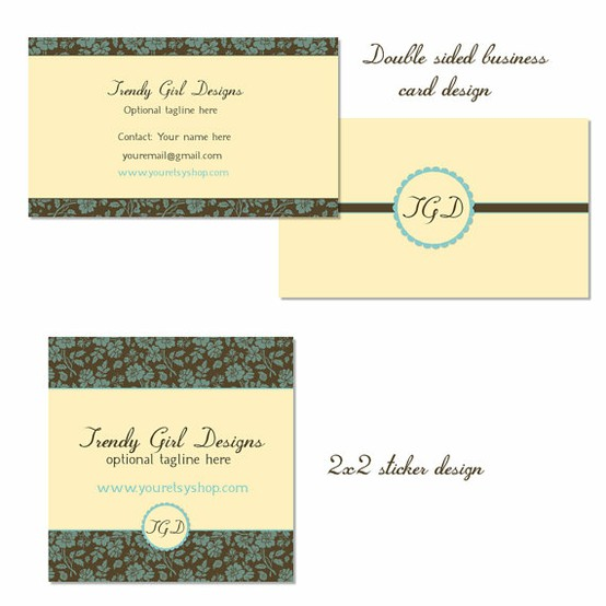 trendy girl designs business card 20 Cool Business Cards For Designers
