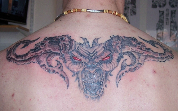 Demon Head Tattoo Demon Head Tattoo
