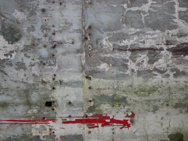 Red Paint Drywall Texture