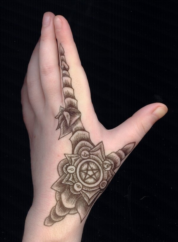 armor hand tattoo 30 Creative Female Tattoo Designs