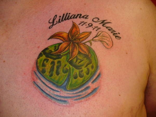 smart lily tattoo 30 Creative Female Tattoo Designs