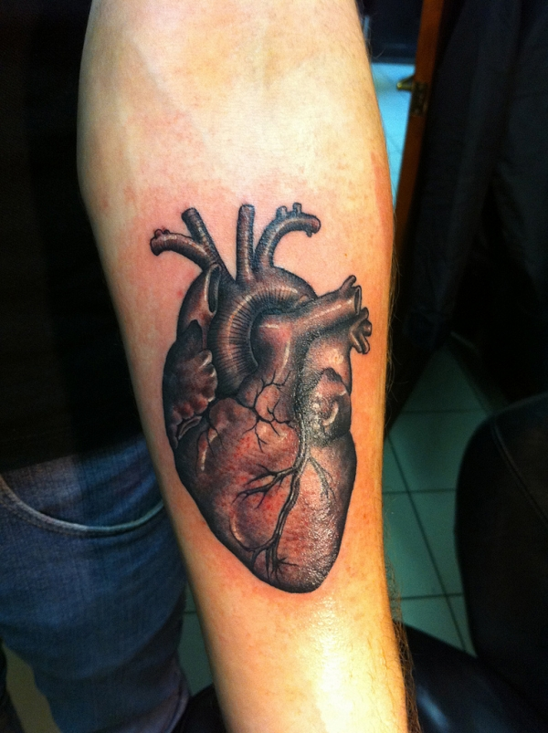 heart tattoo 50 Free Tattoo Designs Which Are Awesome