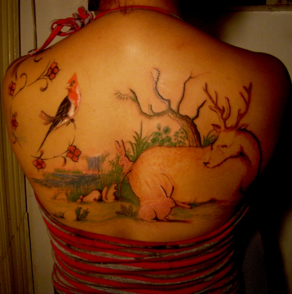jungle tattoo 50 Free Tattoo Designs Which Are Awesome