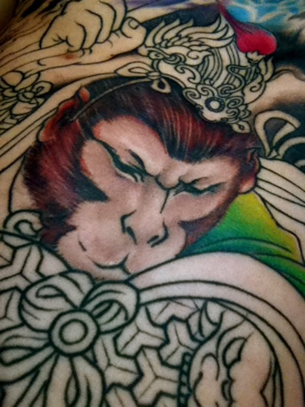 monkey king face 50 Free Tattoo Designs Which Are Awesome