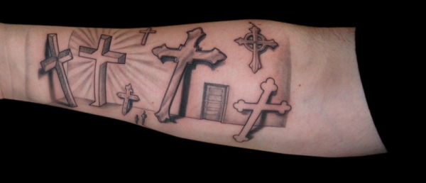 room of crosses 50 Free Tattoo Designs Which Are Awesome