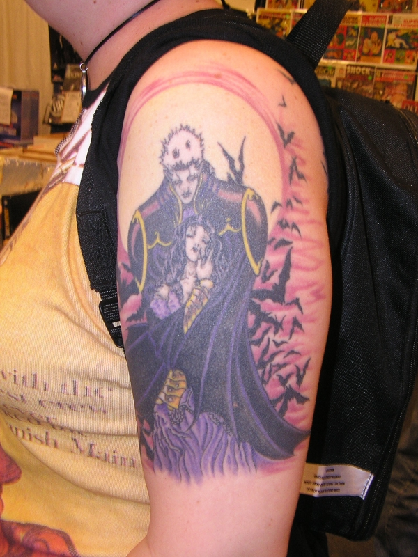 vampire tattoo 50 Free Tattoo Designs Which Are Awesome