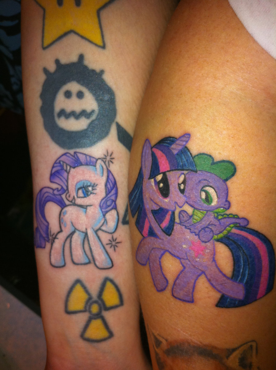 friendship is magic 20 Majestic Best Friend Tattoos