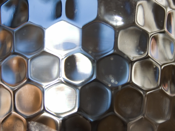 Hexagon Glass Texture