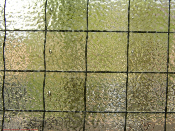 Wire Mesh Glass Texture
