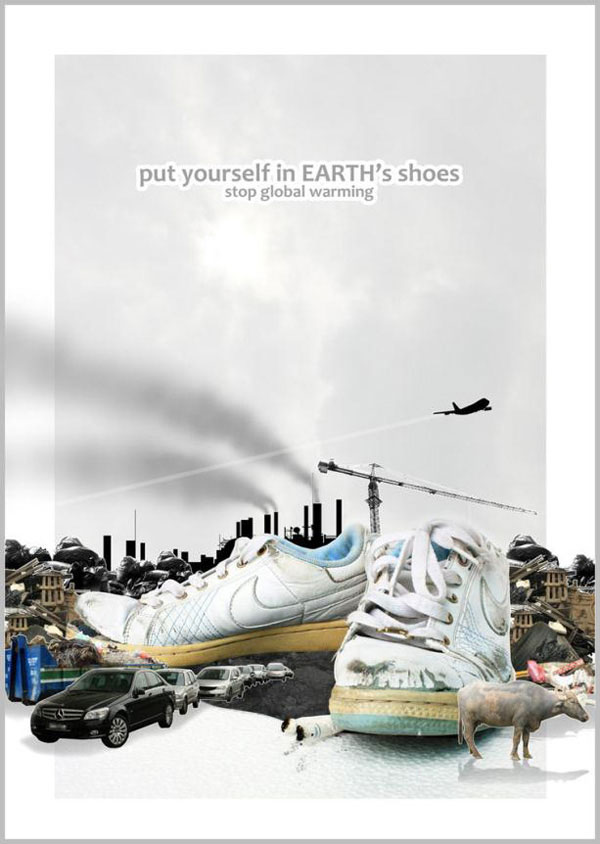 Put yourself in Earth's shoes