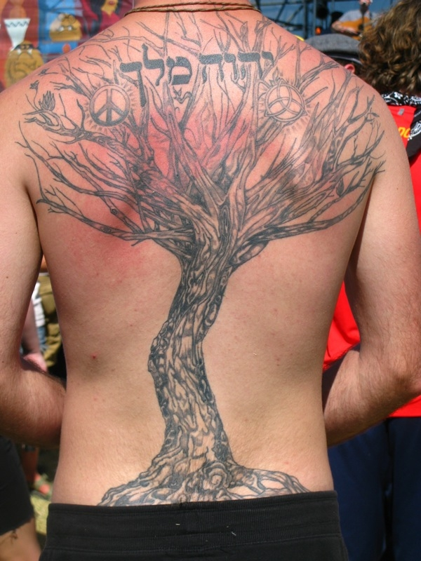 amazing hebrew tattoo 20 Awesome Hebrew Tattoos Ideas
