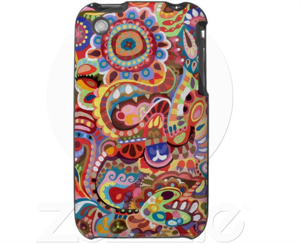 Funky Abstract iPhone Case