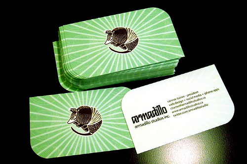 Aemadillo Business Card