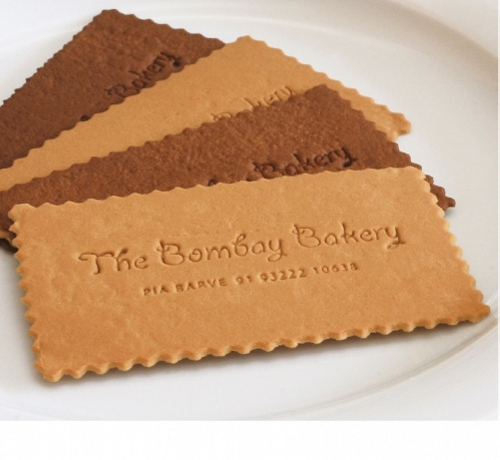 Bombay Bakery Business Card